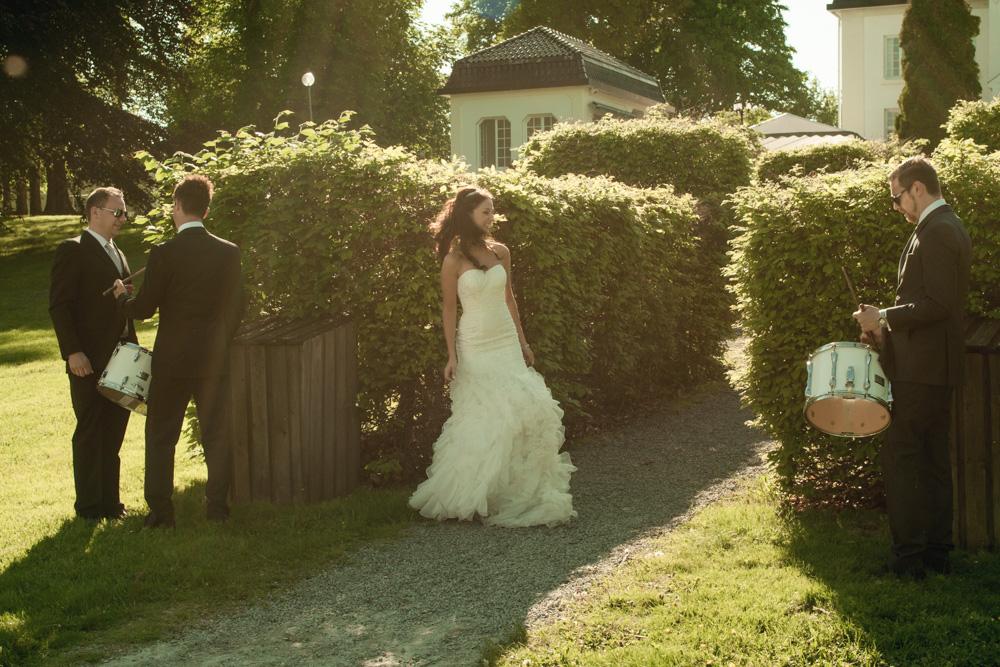 Camilla og Andrés bryllup på Baldersnäs Herrgård 1.juni 2013
