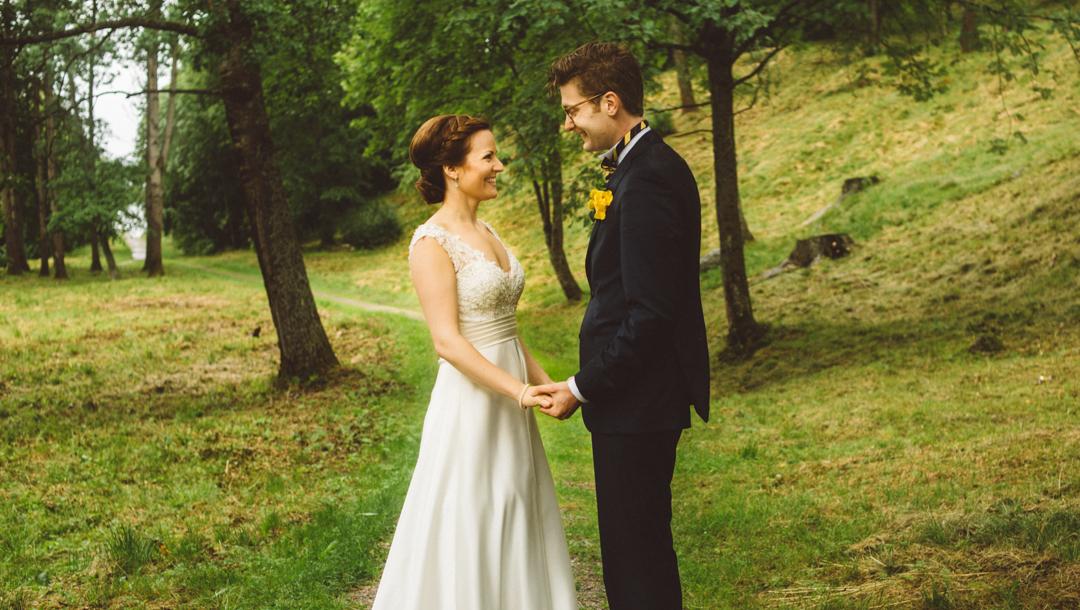 Bröllopsfotograf i Norrland